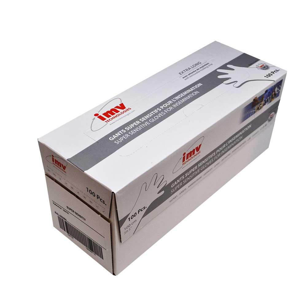Luva IMV C/ Bracelete Copolymer 100 cm (Cx c/100 un) - IMV