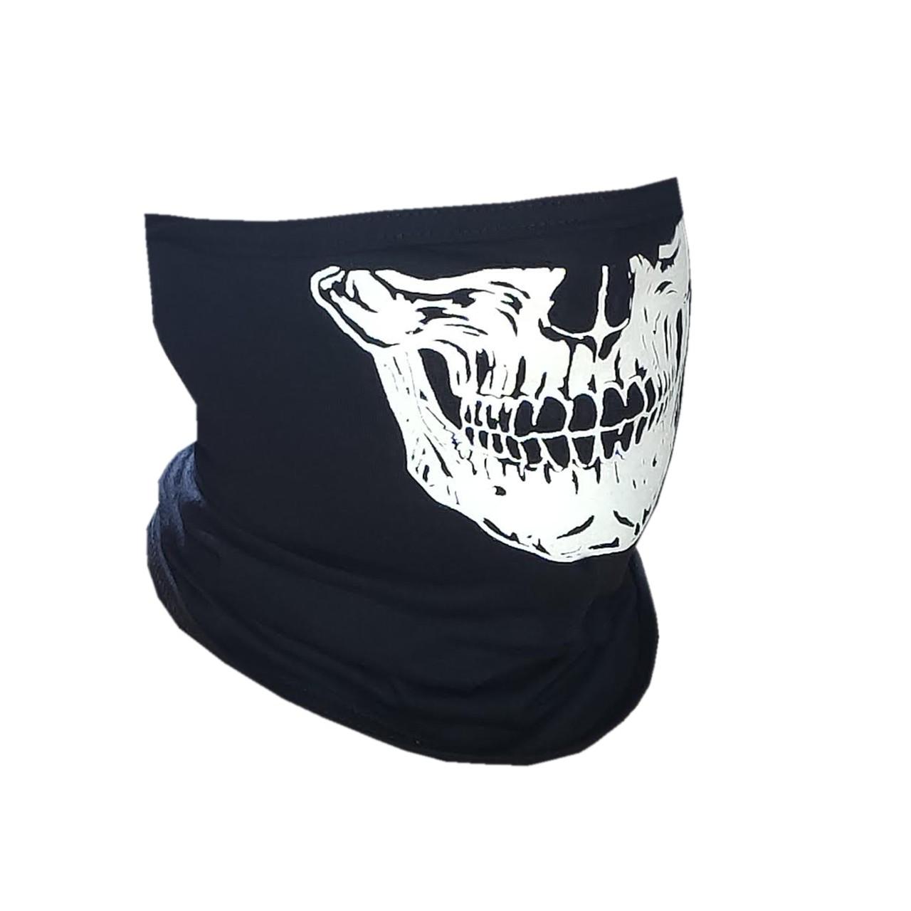 100 X Balaclavas Touca Ninja - Com estampa de Caveiras