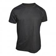 Camiseta Preta Lisa Masculina -  100 % Algodão Básica -  T-Shirt
