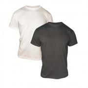 Kit 2 Camisetas Básicas Lisas Masculina 100% Algodão T-Shirt Premium Atacado Tradicional Exclusiva