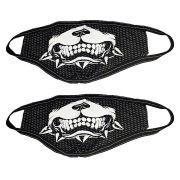 Kit 2 Máscaras Pitbull Personalizada de Tecido