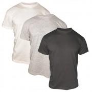 Kit 3 Camisetas Básicas Lisas Masculina 100% Algodão T-Shirt Premium Atacado Tradicional Exclusiva