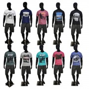 Kit com 10 Camisetas Estampadas Masculinas - Top - Baratas