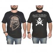 Kit 2 Camisetas Banda de Rock - 100% Algodão - Top - Camisa de Banda