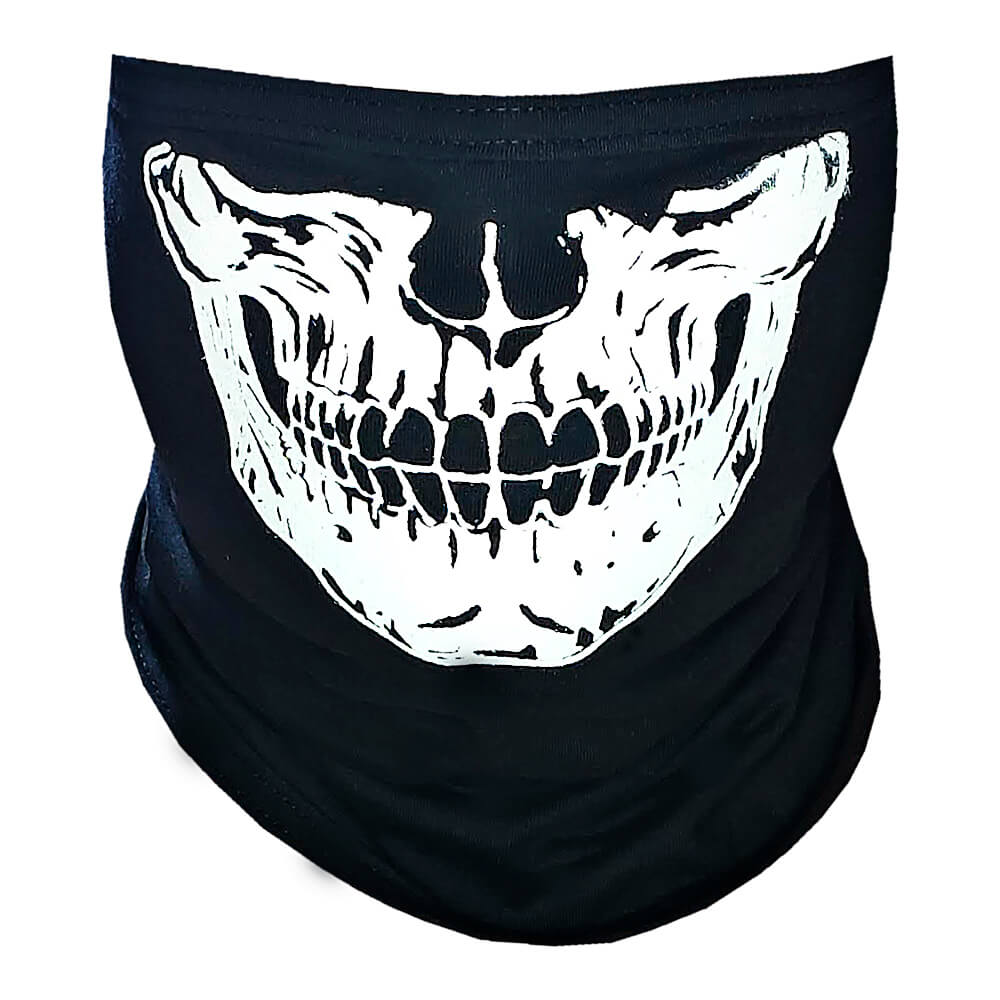 Bandana Caveira Balaclava - Paintball Touca Ninja Skull - Top
