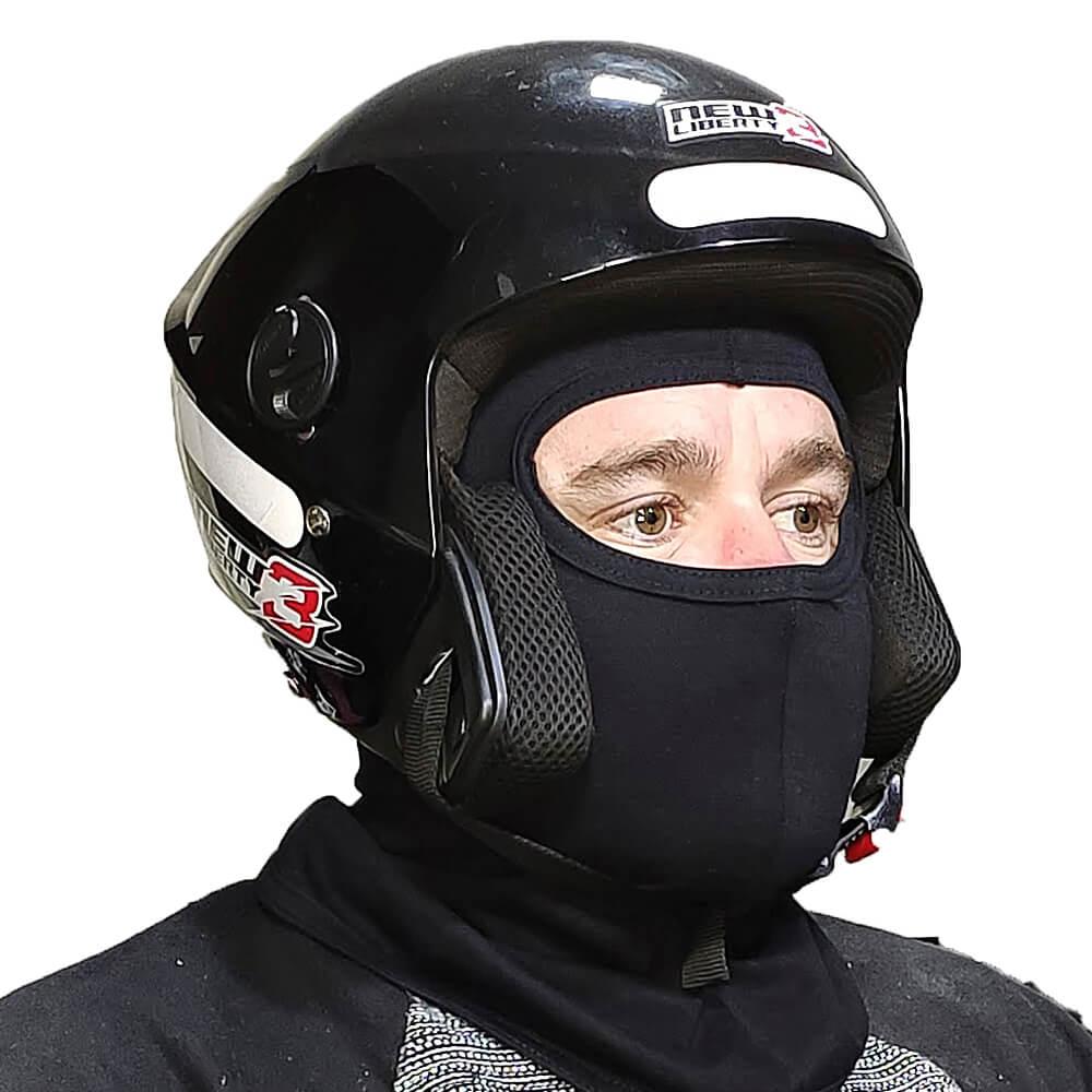 Balaclava Touca Ninja Preta - Motoqueiros, Tática e Frio