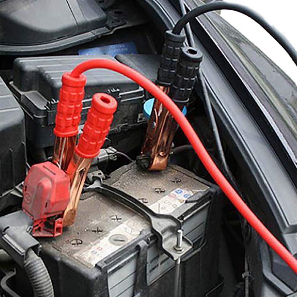 Cabo Para Carregar Bateria 2,2Mts, 200 AMP Com Estojo Chupeta
