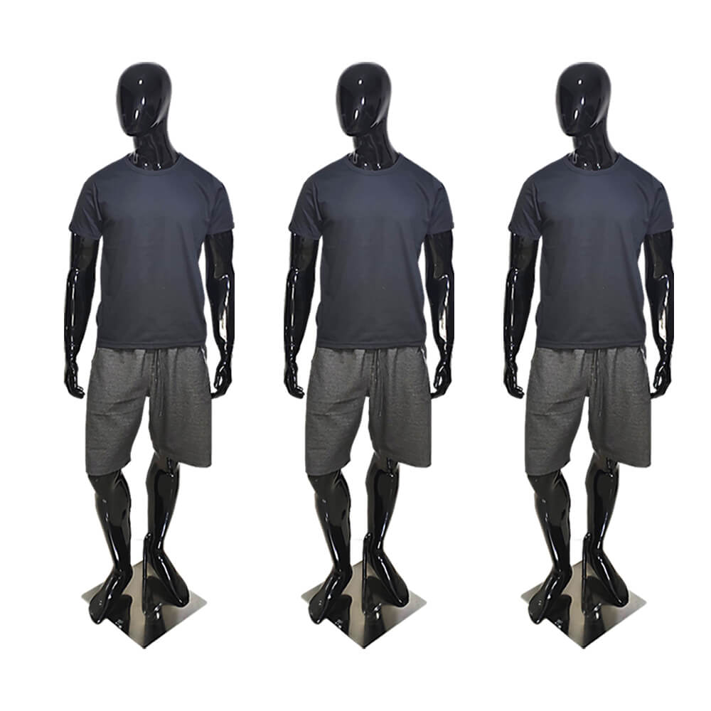 Camiseta Básica Masculina Preta - Casual T-Shirt