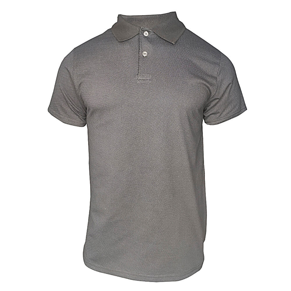 Camiseta Polo Masculina - Preto Liso - Ótima Qualidade - Promoção