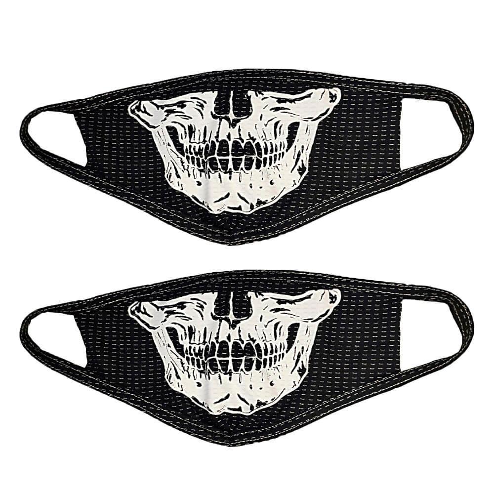 Kit com 2 Máscaras de Tecido Personalizada com Estampa