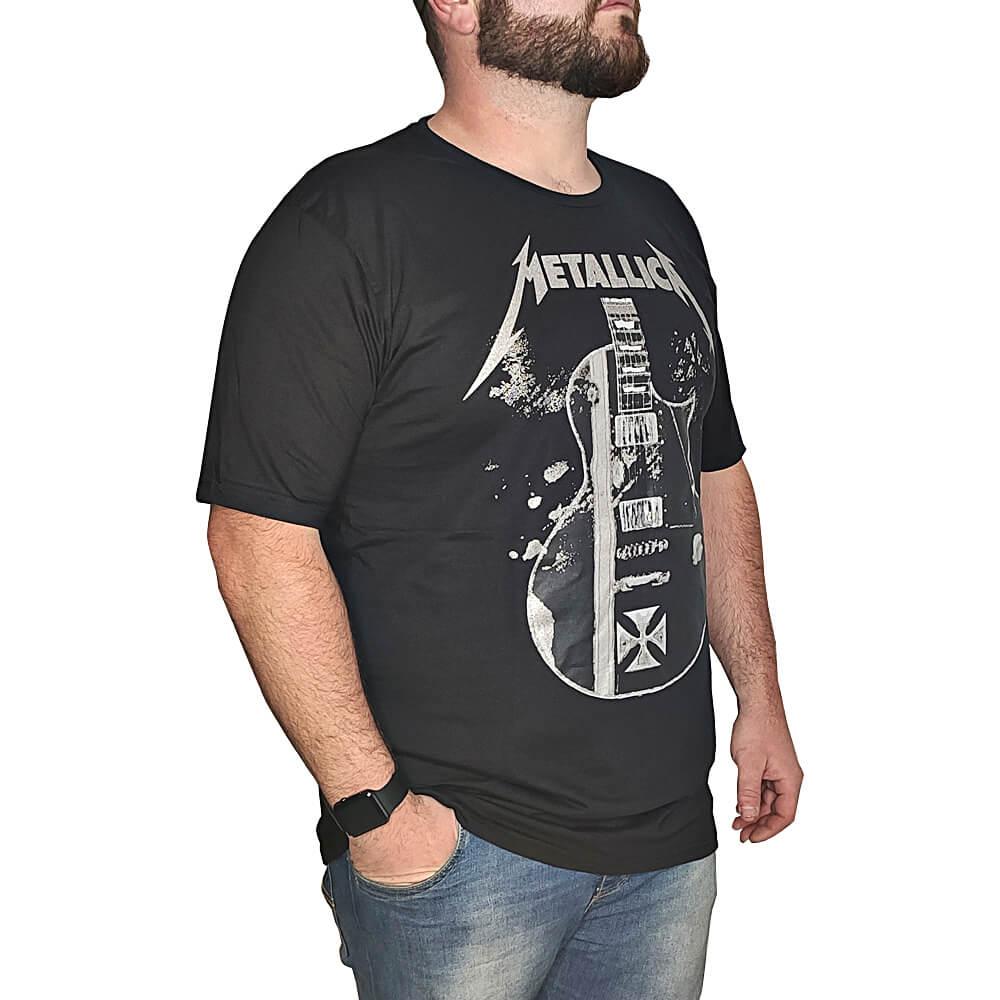 Kit 4 Camisetas Banda de Rock - 100% Algodão - Top - Camisa de Banda