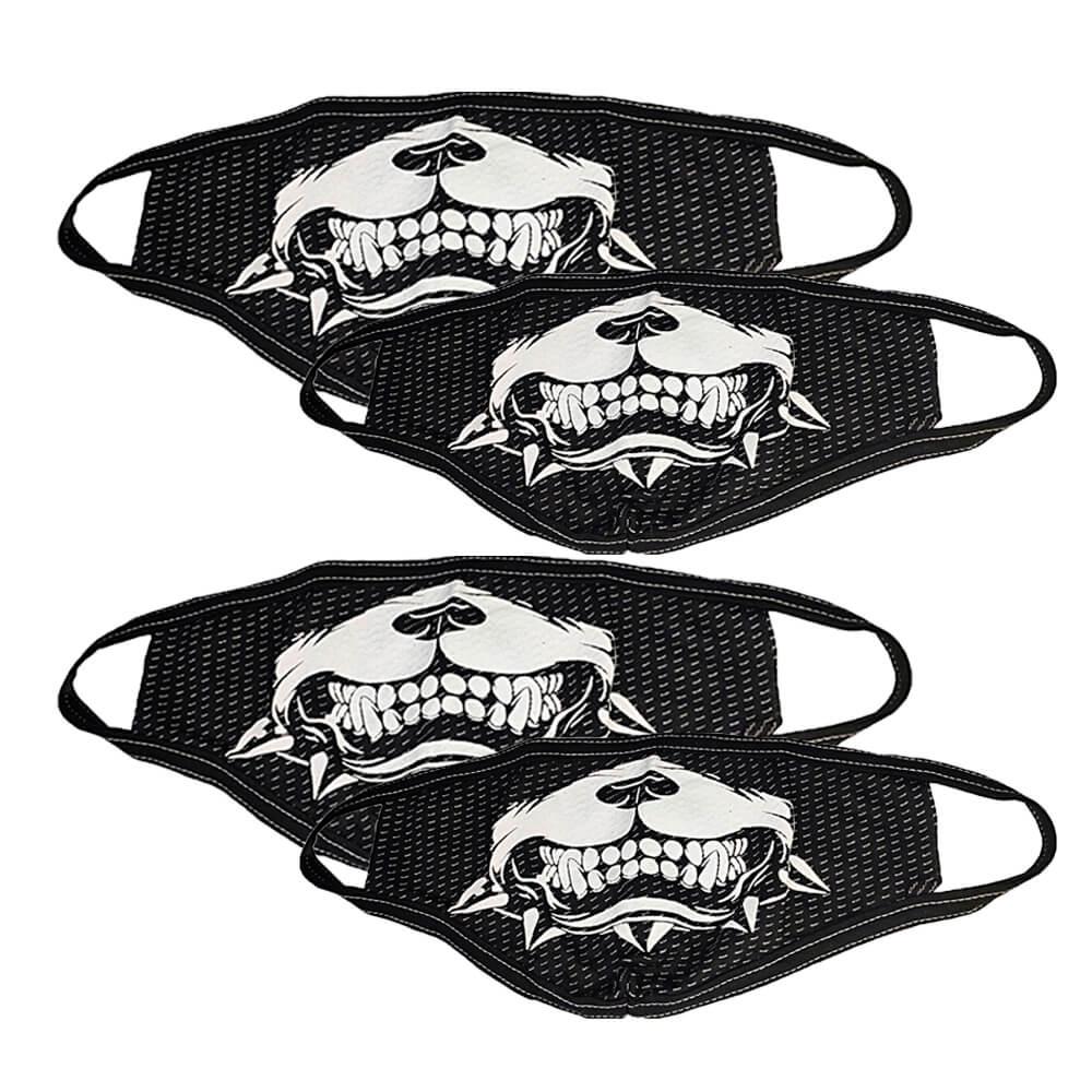 Kit com 4 Máscaras de Tecido Personalizada com Estampa - Monte seu Kit