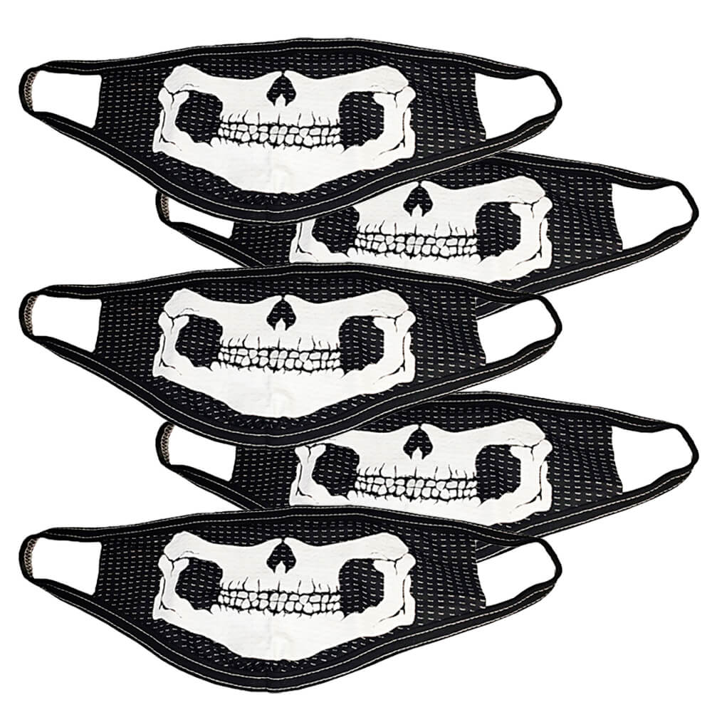 Kit com 5 Máscaras de Tecido Personalizada com Estampa - Monte seu Kit