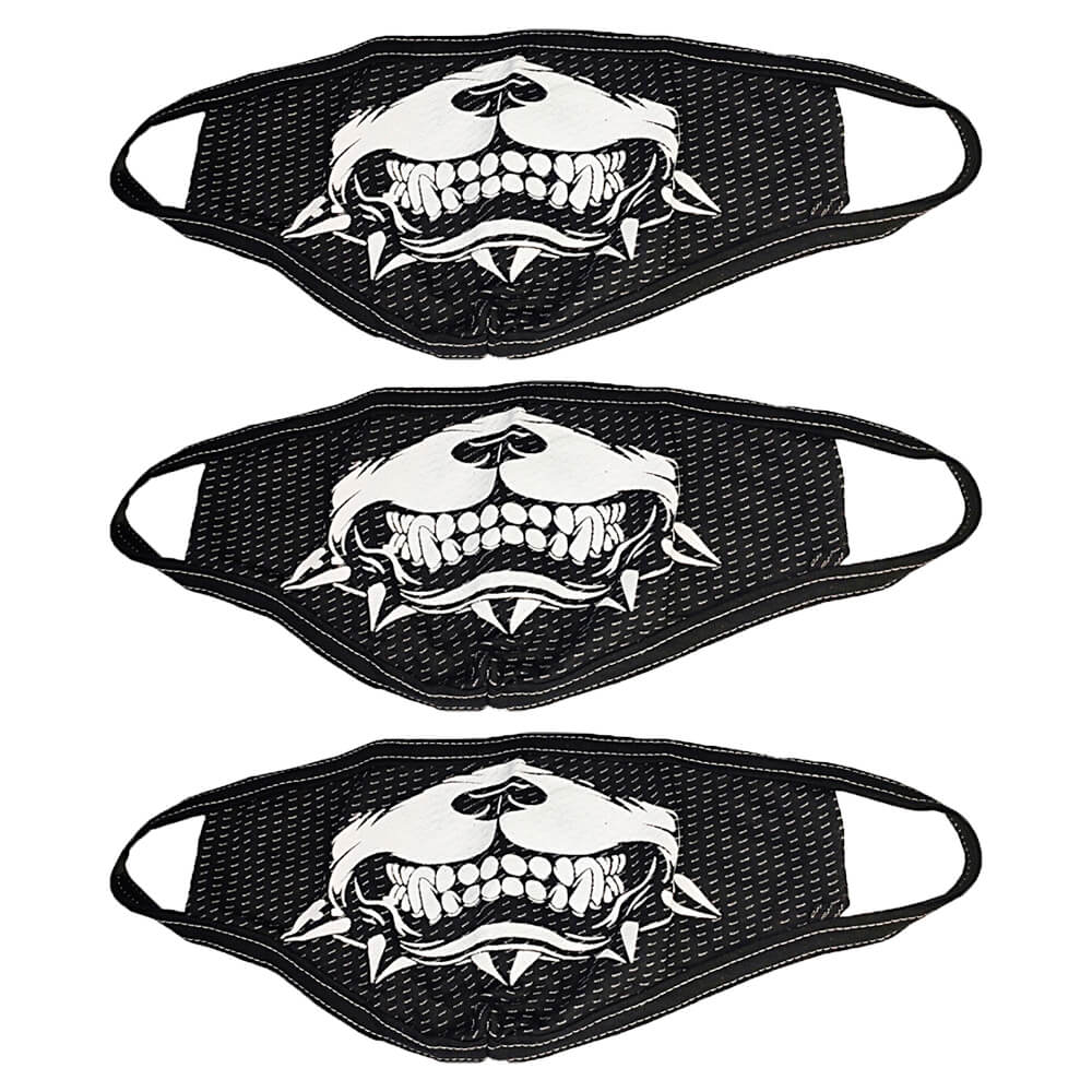 Máscara de Tecido para o Rosto Personalizada Estampa Pitbull