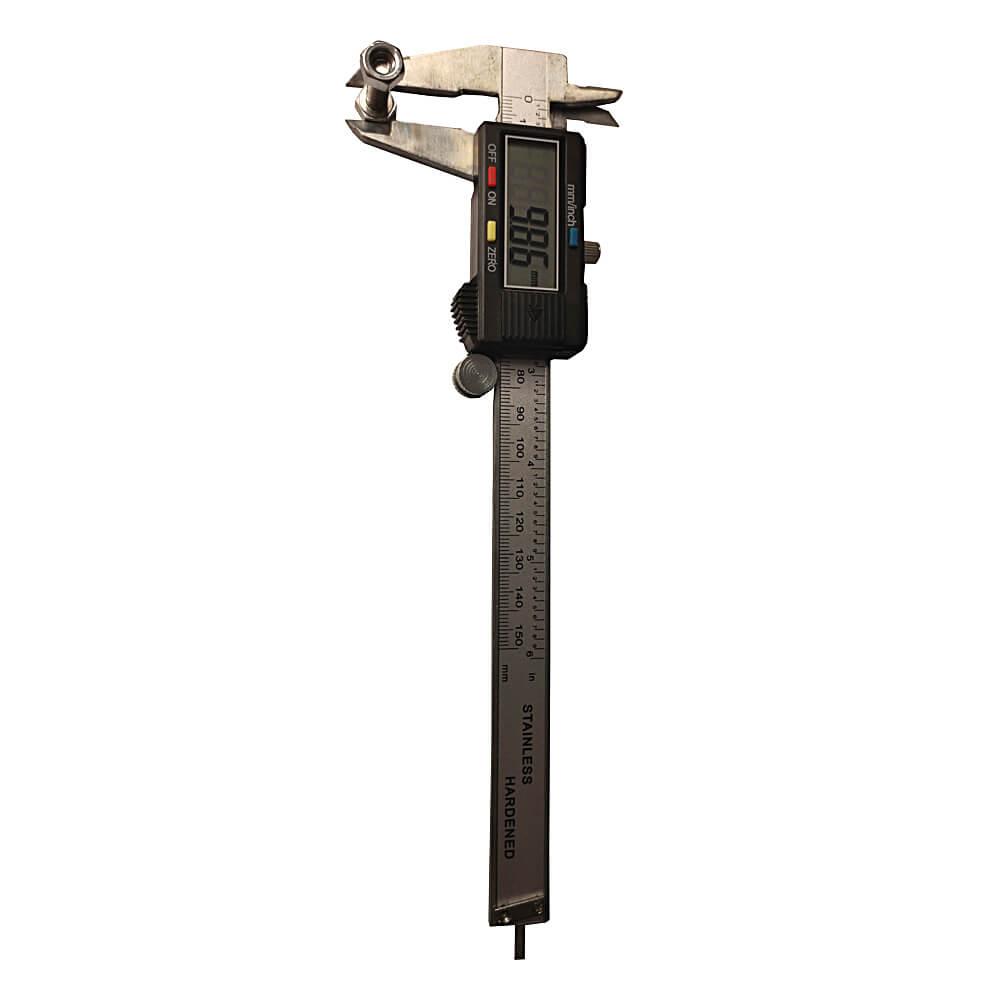 "Paquímetro Digital 6"" 150mm Com Estojo"