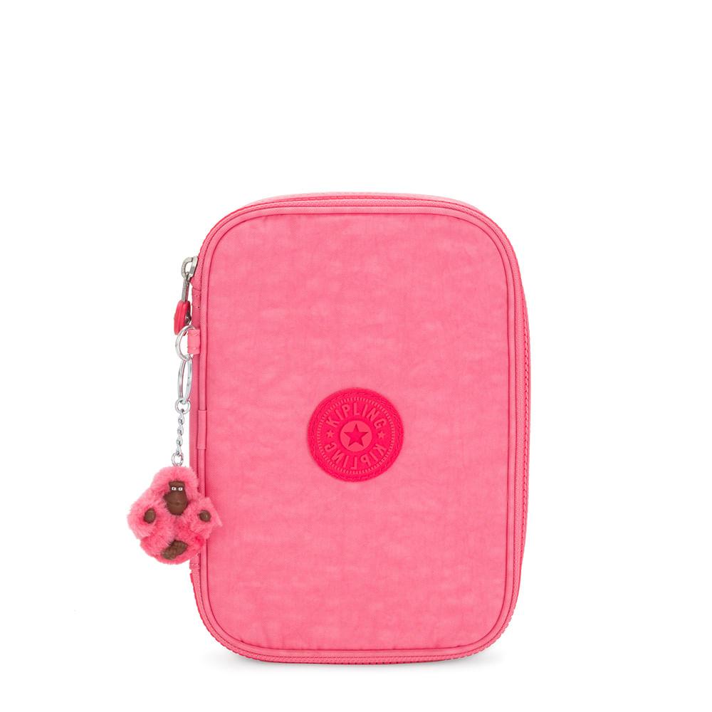 100 Pens Estojo Kipling - Fiesta Pink