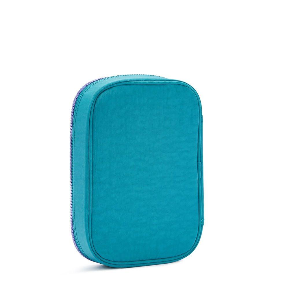 100 Pens Estojo Kipling - Fresh Turquoise