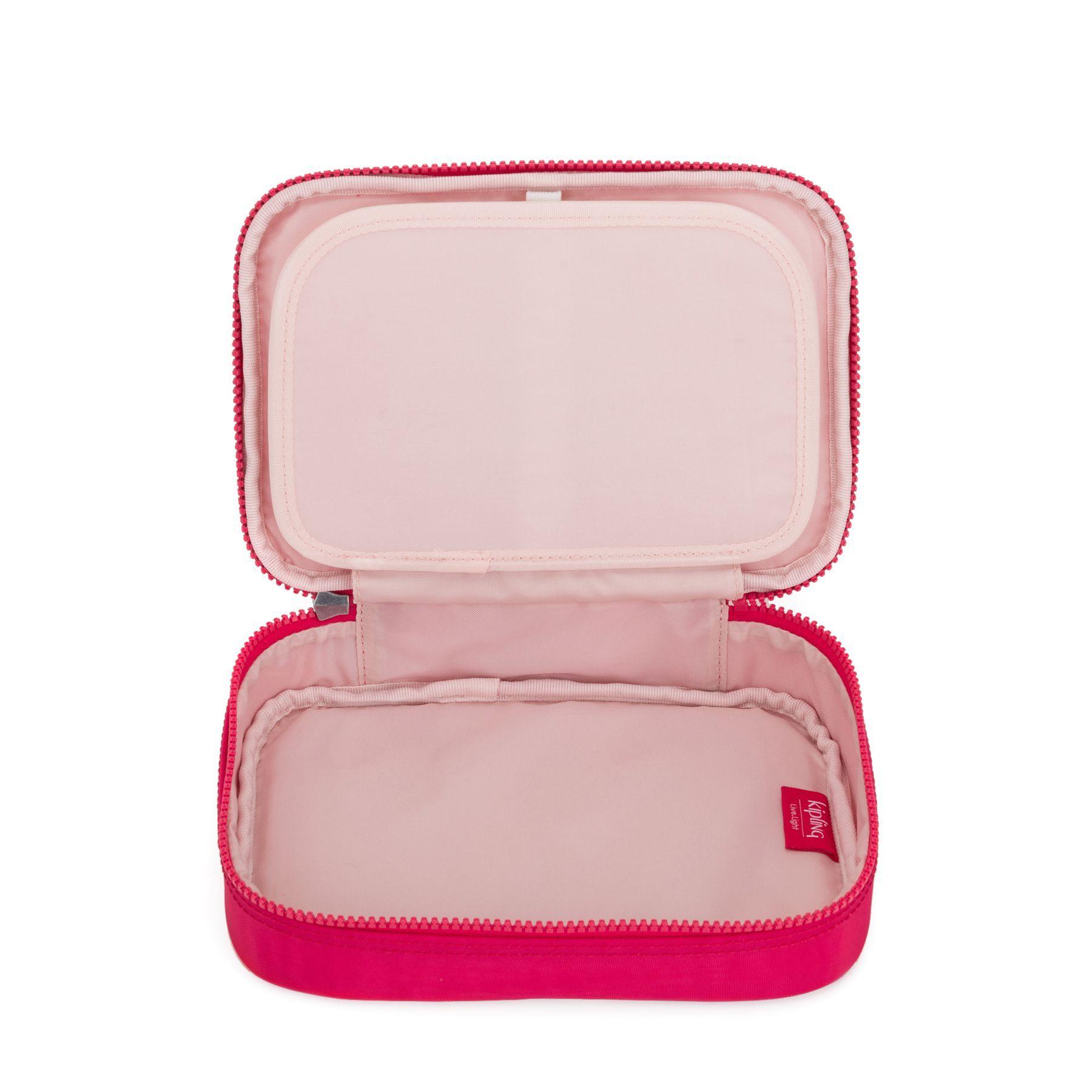 100 Pens Estojo Kipling - True Pink