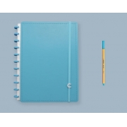 Caderno Inteligente All Blue - Grande