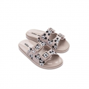 Chinelo Melissa Wide Mickey Friends - Rosa e Branco