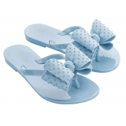 Chinelo Mini Melissa Harmonic Sweet III - Azul/Dream