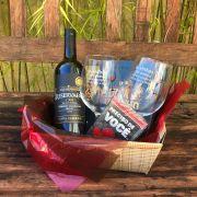 Kit Taças e Vinho