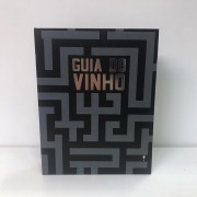 Kit Vinho Livro Grande 5 Peças - Guia do Vinho