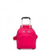 Nusi Mochila de Rodinhas Kipling - True Pink