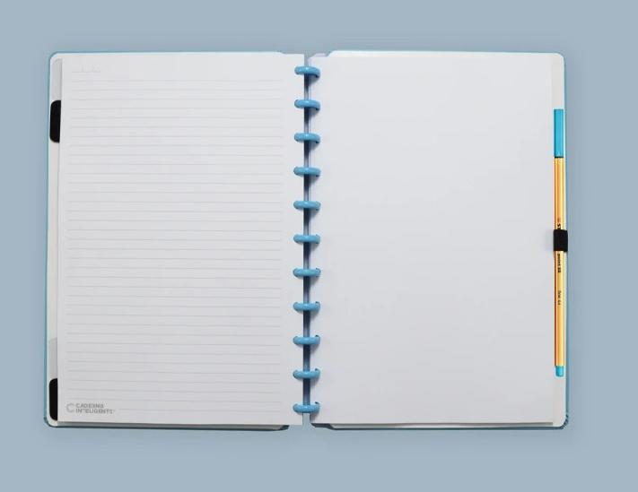 Caderno Inteligente All Blue - Grande