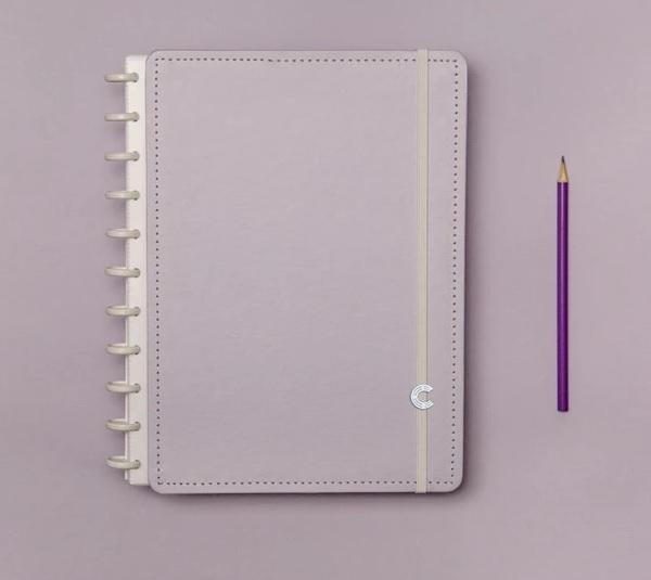 Caderno Inteligente Lilas Pastel - Grande