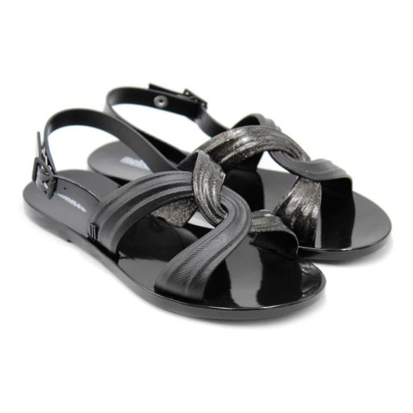 Chinelo Melissa Essential Mix Sandal - Preto