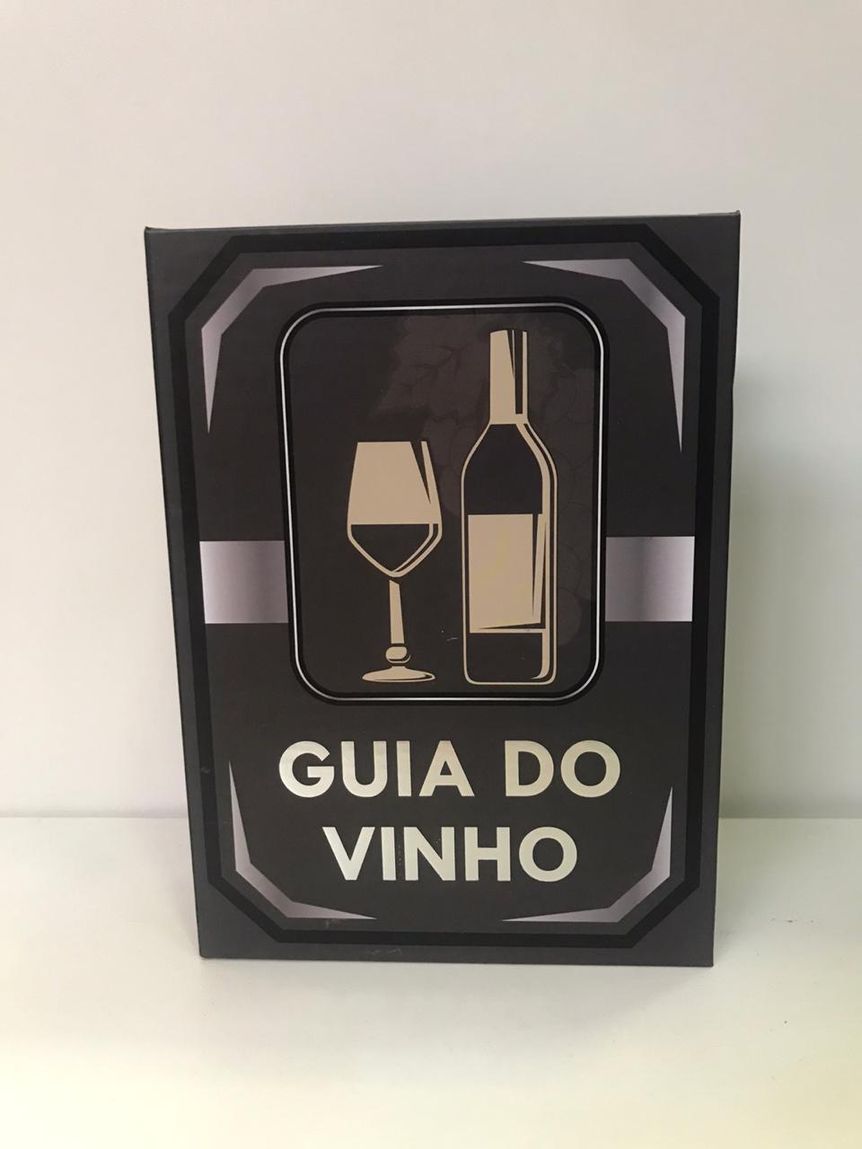 Kit Vinho Livro Grande