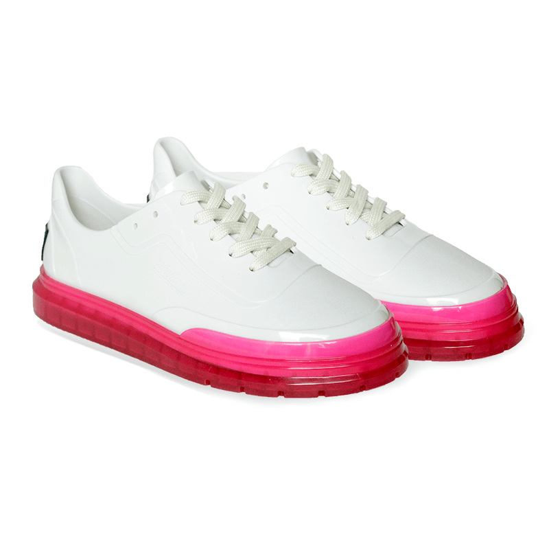 Melissa Classic Sneaker + BT21 - Branco/Rosa