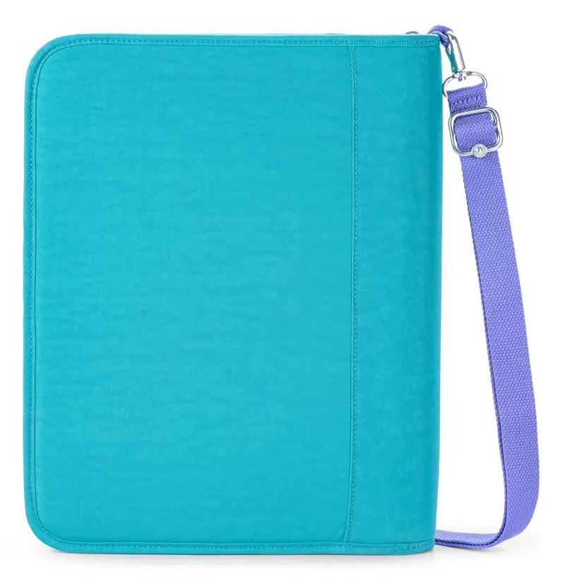 New Storer Fichário Kipling - Fresh Turquoise