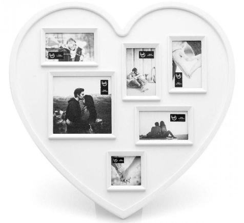 Painel de Fotos Coração