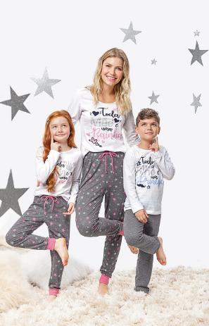 Pijama Mãe e Filha - Toda Mãe  é uma Rainha