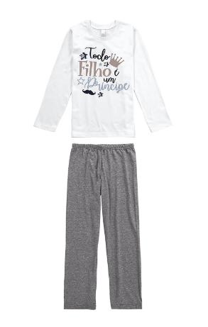 Pijama Mãe e Filho - Todo Filho é um Príncipe