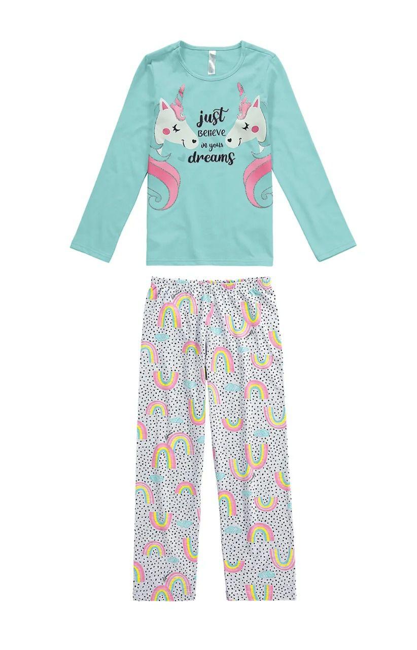 Pijama Unicórnio Adulto