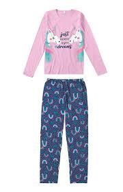 Pijama Unicórnio Infantil