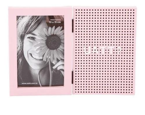 Porta Retrato com Letreiro - Rosa