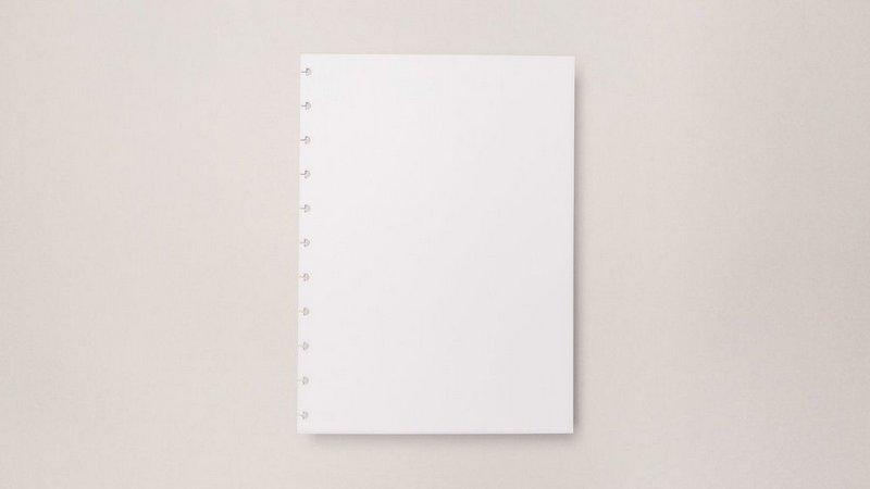 Refil Branco Caderno Inteligente - Grande 90 g