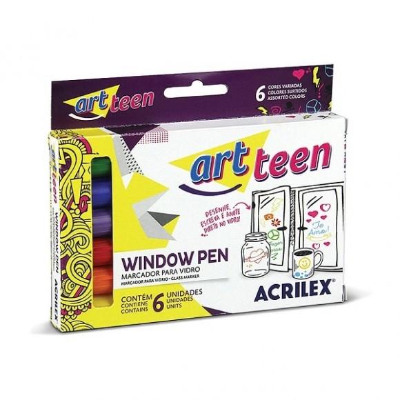 Window Pen 6 Cores