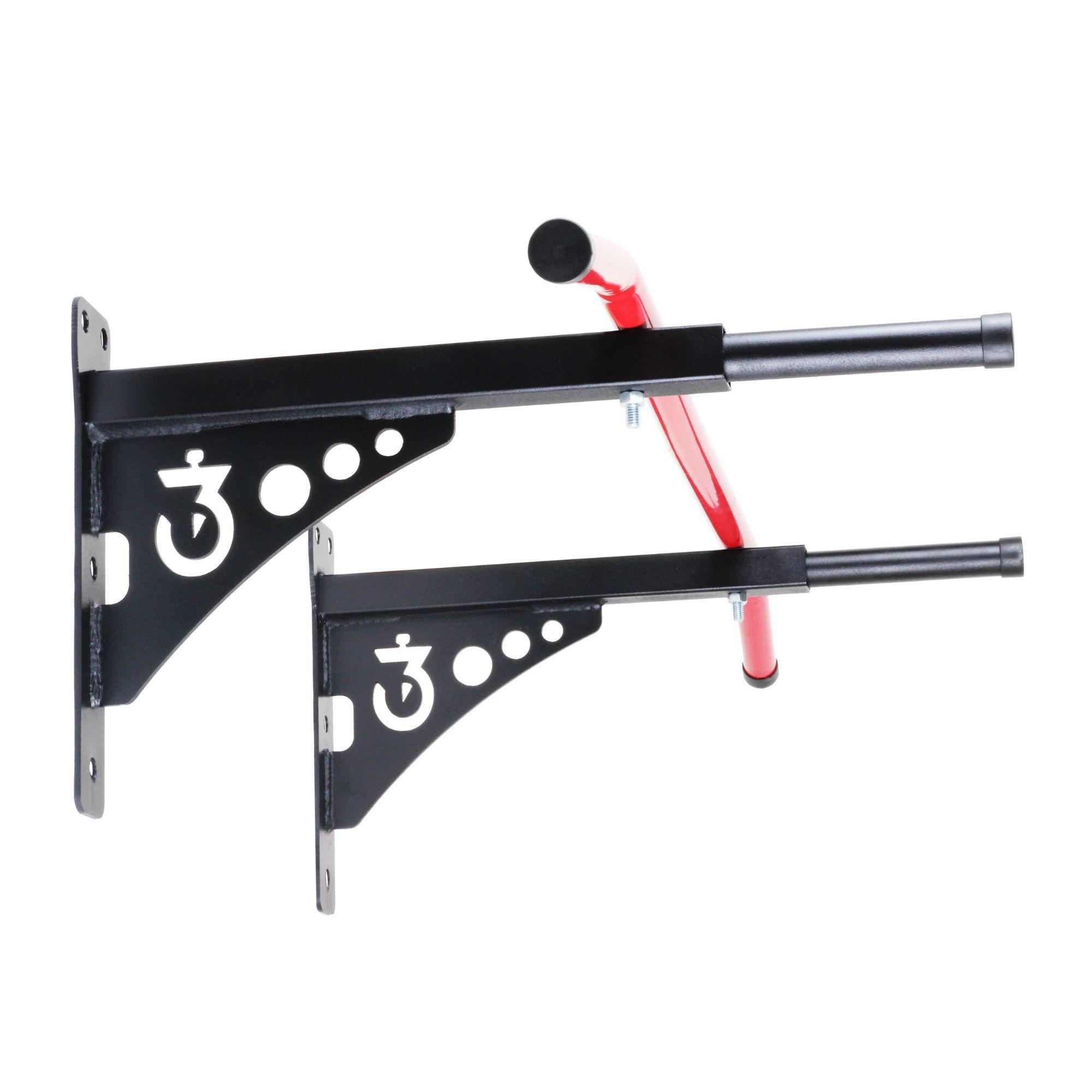 Barra Fixa De Parede Crossfit Pull-up Bar 2 em 1