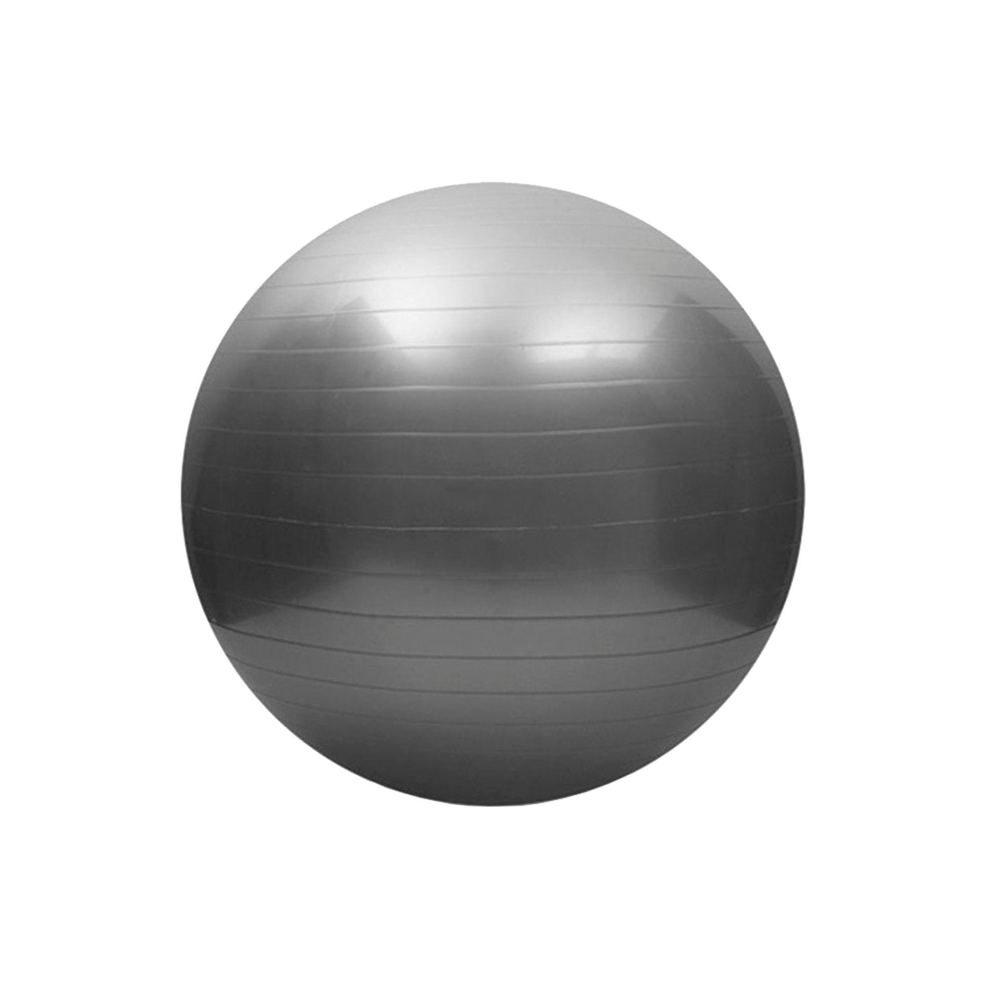 Bola de Pilates Antiestouro 65cm Preto