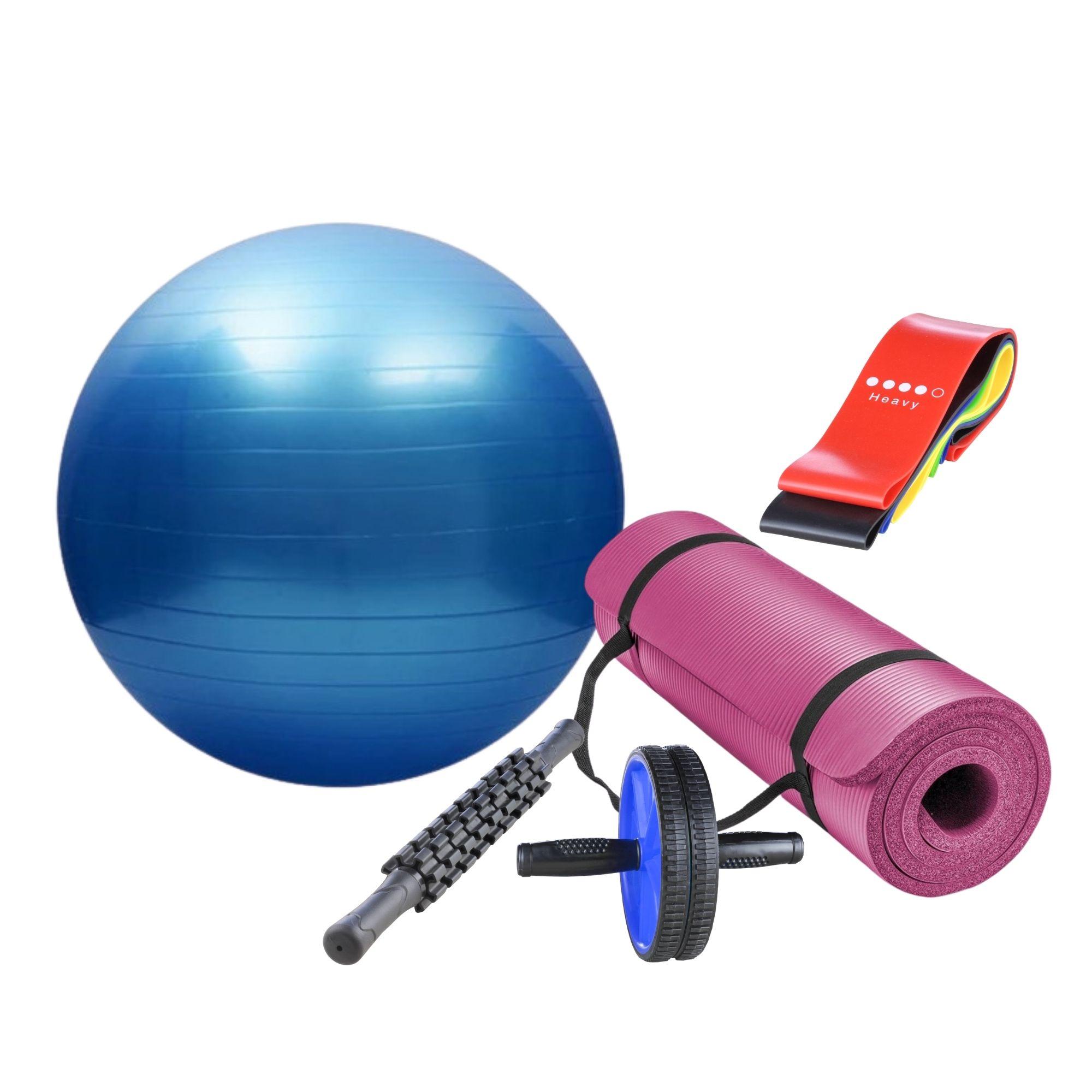 Kit Pilates e Yoga em Casa
