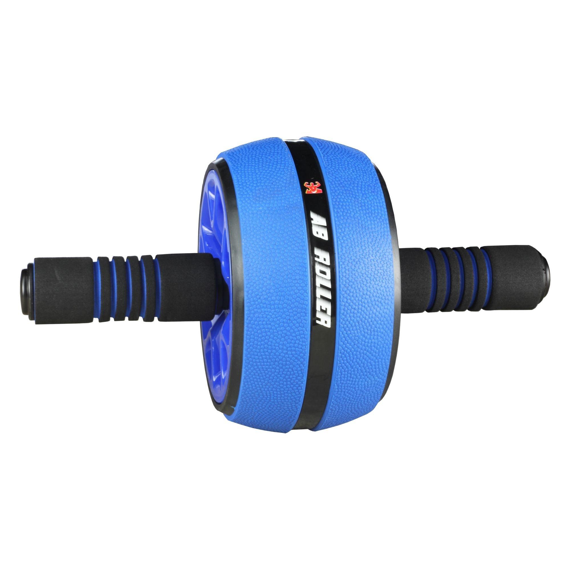 Roda Abdominal - Ab Wheel PRO Azul