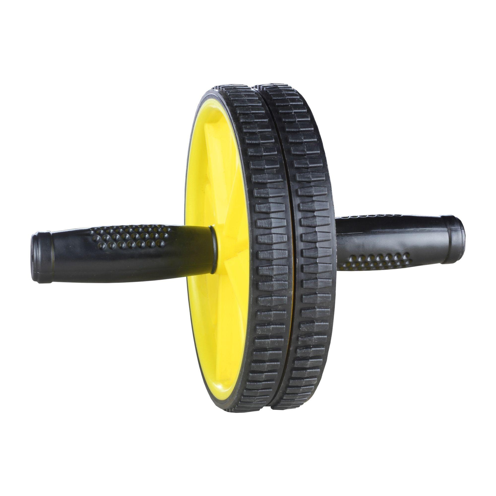 Roda Abdominal - Ab Wheel STD Amarelo