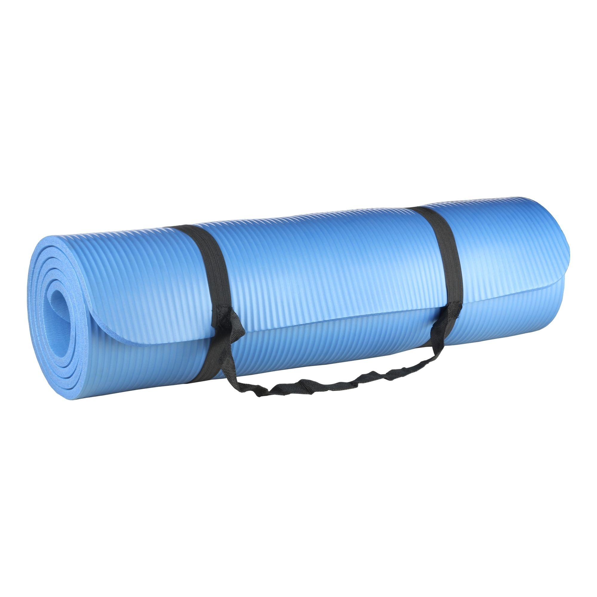 Tapete para Yoga e Pilates 10mm Azul