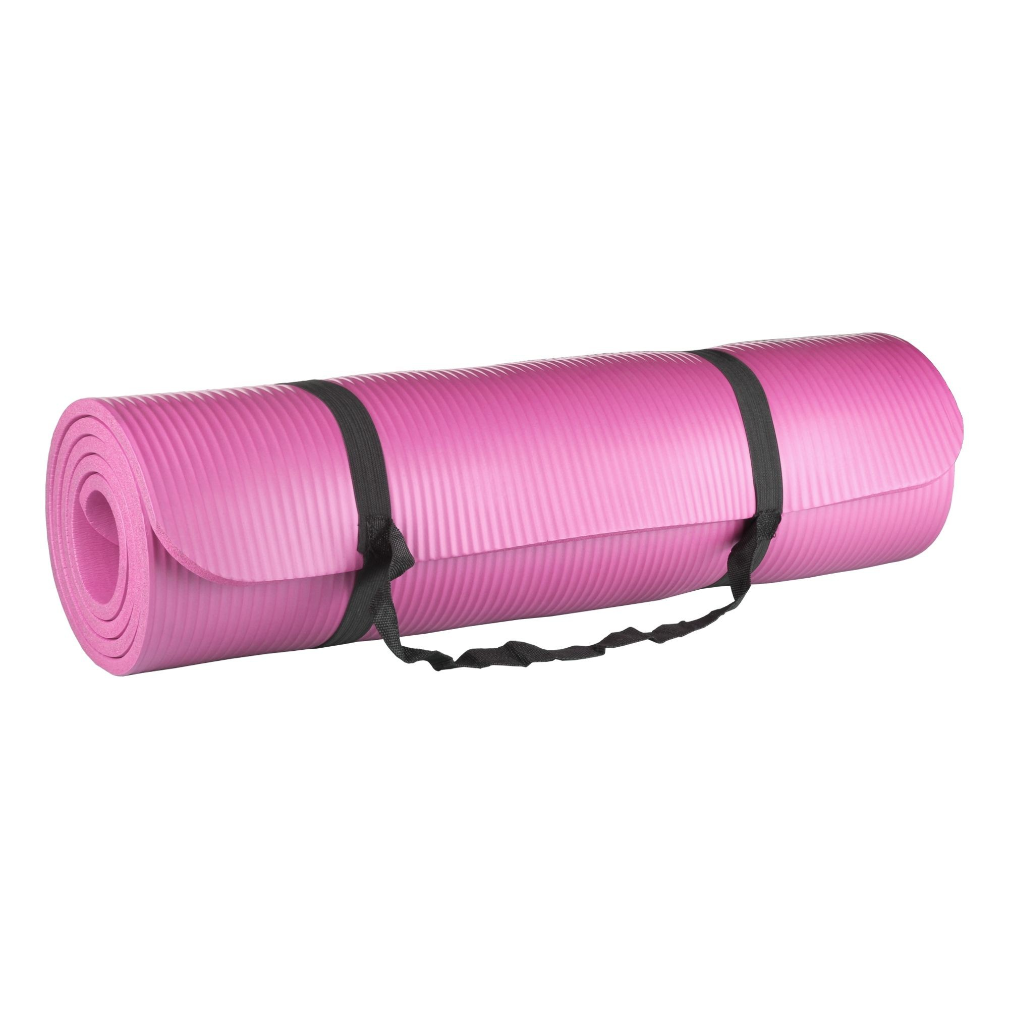 Tapete para Yoga e Pilates 10mm Rosa