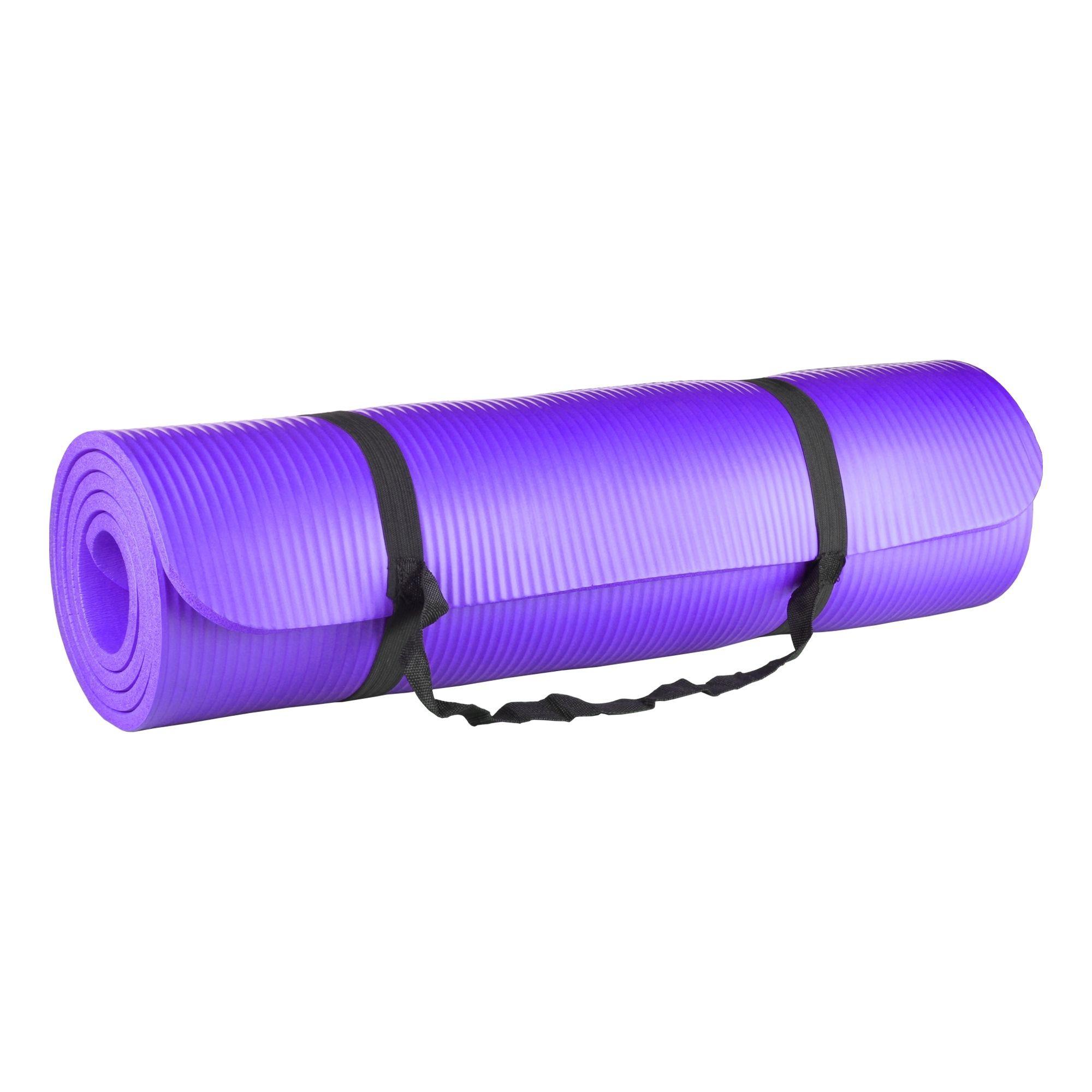 Tapete para Yoga e Pilates 10mm Roxo